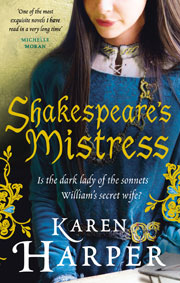 Shakespeare's Mistress, British cover